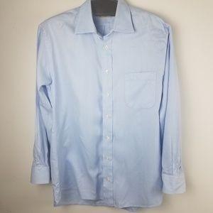 Burberry London Long Sleeve Dress Shirt 15 1/2